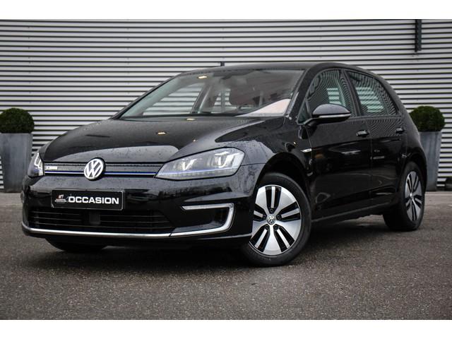 Volkswagen e-Golf Automaat 115pk Navigatie Adaptive cruise control Achteruitrijcamera Keyless entry Parkeersensoren Climatronic LED koplampen