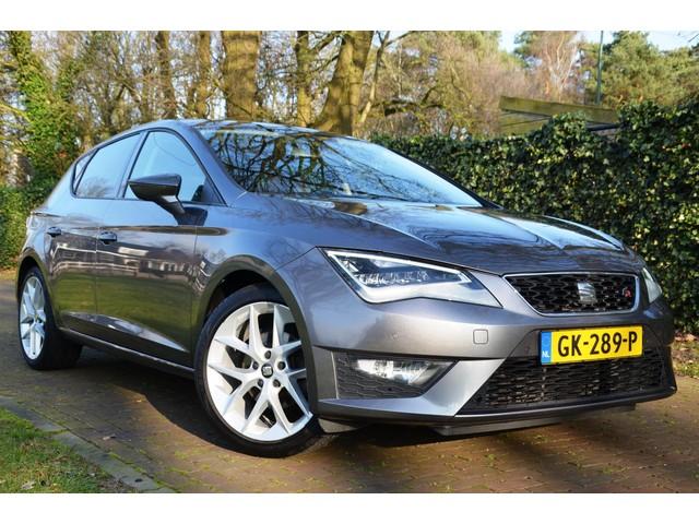 Seat Leon 1.4 TSI ACT FR Dynamic Led Navi Pdc Ecc Half-Leer 18 Inch Velgen