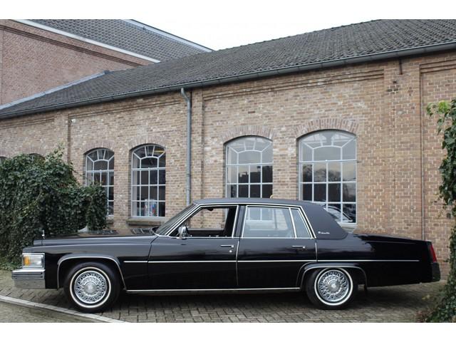 Cadillac Sedan-De-Ville 7.0i 425Ci V8 Big Block Automaat 1e eigenaar, Slechts 41.680 km! Super netjes, Triple Black, Full option