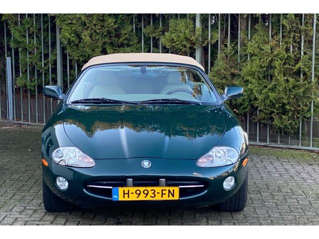 Jaguar XK8 4.0 V8 Convertible 1e eigenaar, dealer onderhouden, volledige historie, NAP