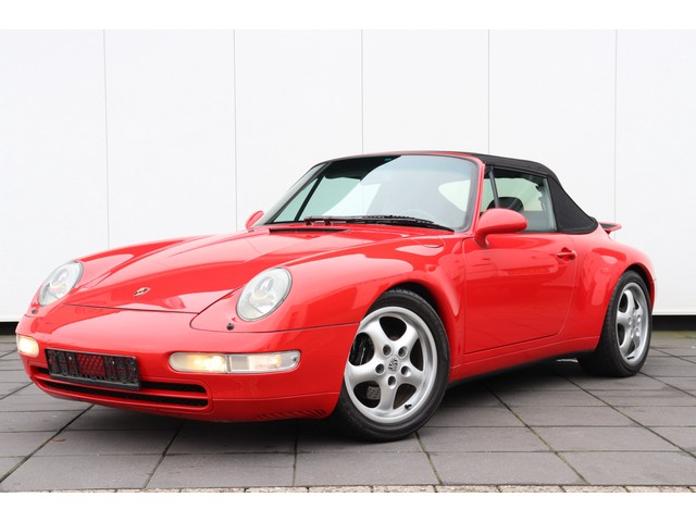 Porsche 911 3.6 993 Cabriolet Carrera 45.528 KM !!!| 272 PK | LEDER | AIRCO | LMV |