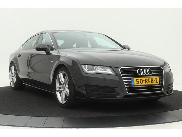 Audi A7 2.8 FSI quattro S-Line int. | Valcona leder | MMI+ | Stoelverwarming | BOSE | Keyless | Trekhaak