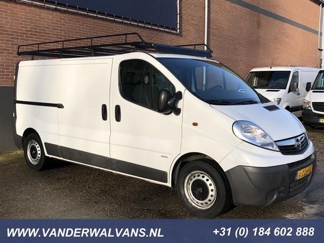 Opel Vivaro 2.0CDTI 115pk L2H1 Airco, omvormer, imperiaal, cruisecontrol, trekhaak