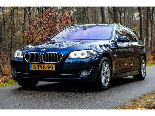 BMW 5 Serie Touring 530 d High Executive soft close comfort st oelen private glas servosturing electr achterklep