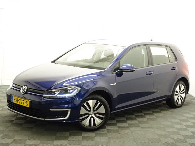 Volkswagen e-Golf GP E-Edition 136pk DSG7 Navi, Led Xenon, Camera, Add Cruise, 4% bijtelling