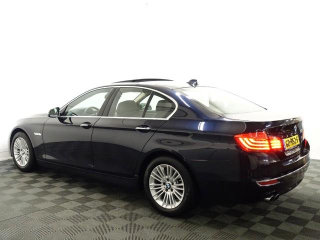 BMW 5 Serie 520i Sedan High Exe Luxury M Aut8- Schuifdak, Leer, Camera, Xenon, Head-up