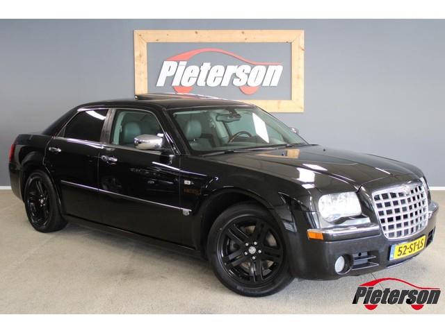 Chrysler 300C 3.5 V6 BLACK ON BLACK! NAVI LEDER DAK