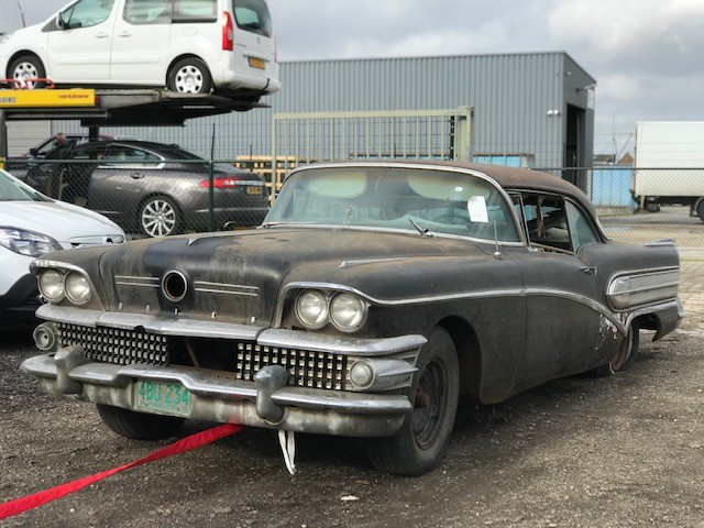 Buick Century Special 1958 Coupe V8 Automaat King of Chrome