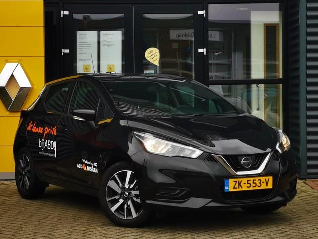 Nissan Micra 90pk IG-T Acenta ACTIEPRIJS! | Navigatie | Parkeersensoren | Airco | Cruise control | Lichtmetalen velgen |