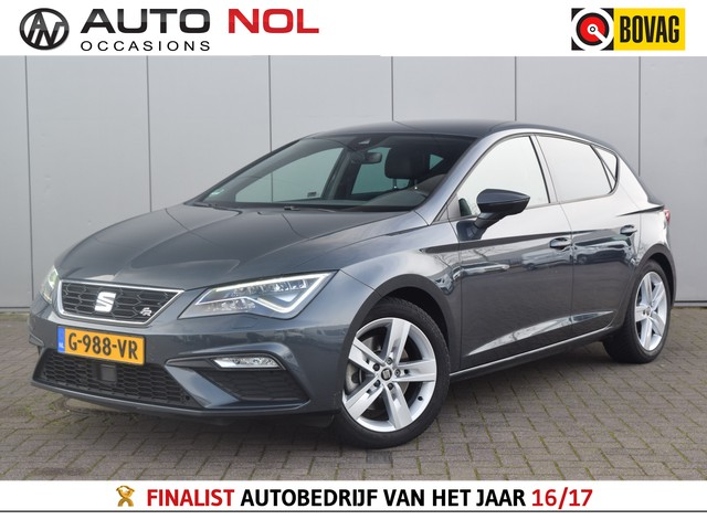 Seat Leon 2.0 TSI FR Business Intense Clima Adaptief Cruise LED Laneassist Stoelverw. DAB+ Automaat!
