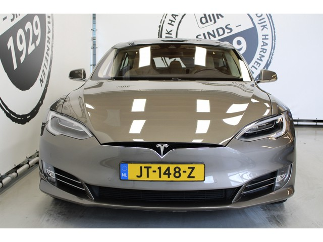 Tesla Model S 90D Base PANORAMADAK AUTO PILOT 21 INCH CAMERA LUCHTVERING GETOONDE PRIJS IS EXCL BTW!