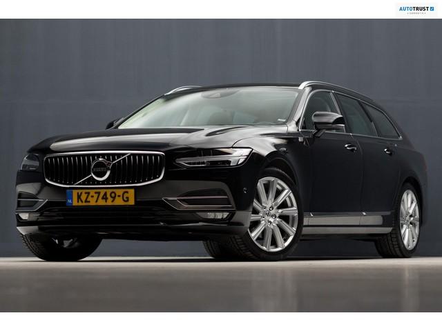Volvo V90 2.0 D4 Inscription Sport (PANORAMADAK, NAVIGATIE, MASSAGE, ADAP LED, ADAP CRUISE, GROOTLICHTASSIST, VOORSTOELEN VERW GEKOELD)