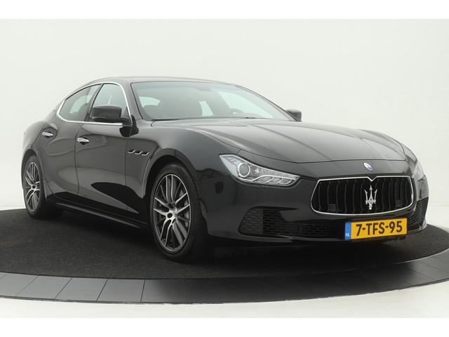 Maserati Ghibli 3.0 V6D Premium *Orig. NL*   275pk   Dealer onderhouden   Volleder   Stoelverwarming   DAB+