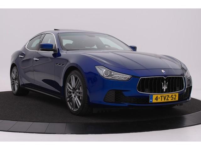 Maserati Ghibli 3.0 V6 D Premium   Carbon inleg   20