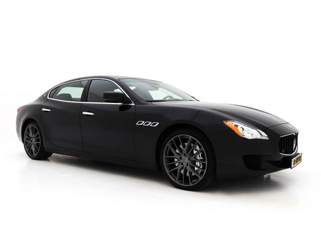 Maserati Quattroporte 3.8 V8 GTS Aut. 531PK *VOLLEDER+BI-XENON+NAVI-PROF+BOWERS&WILKINS HIFI+KEYLESS+PDC+ECC+CRUISE+MEMORY+CAMERA*