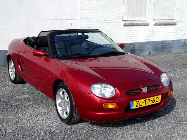 MG F 1.8i Cabriolet LE Heritage 1e Eigenaar-85000 Kilometer