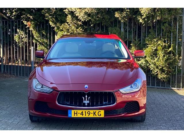 Maserati Ghibli 3.0 V6 31.653 KM Full-option nieuwstaat