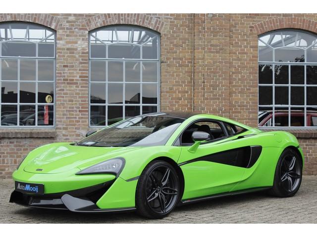 McLaren 570S 3.8 V8 570 PK, Carbon, Lift, Keramisch, Mantis Green, Stealth Pack, Alcantara, Full Option