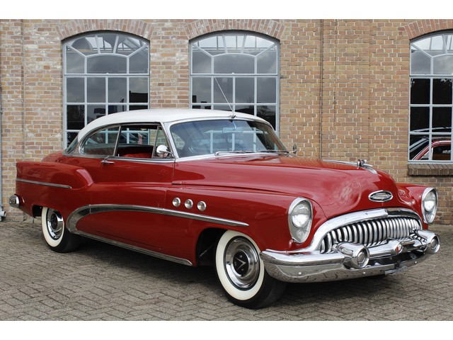 Buick Super eight 1953 322 Cu. 5.3 liter Nailhead V8 Automaat, Super mooi, Power steering
