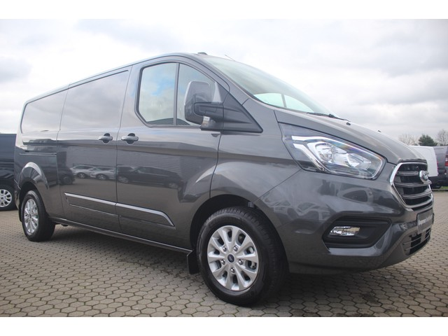 Ford Transit Custom 300 2.0TDCI 170pk L2H1 Limited | Automaat | Airco | 2-zits |  Cruise | Zijdeur L+R | Camera | PDC | Navi | Lease 475,- p m