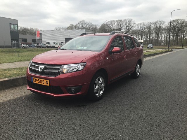 Dacia Logan MCV TCe 90pk Prestige Navig., Airco, Cruise, Park. sens., Lichtm. velg.