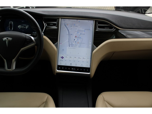 Tesla Model S 90D Base PANORAMADAK AUTO PILOT 21 INCH CAMERA LUCHTVERING PRIJS IS EXCL BTW