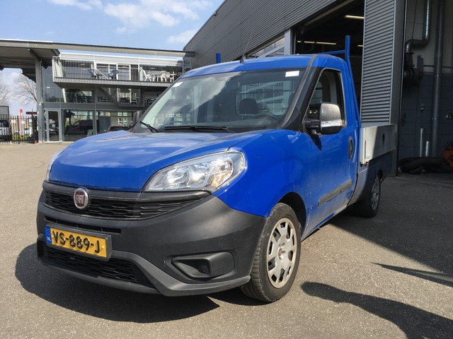 Fiat Doblo Cargo 1.4-16V Benzine Open laadbak Pick-up (BPM Vrij)