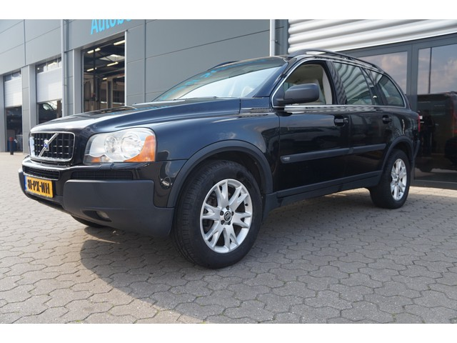 Volvo XC90 2.4 D5 Exclusive Automaat 7-Persoons Youngtimer Airco Cruise Controle Leer Trekhaak