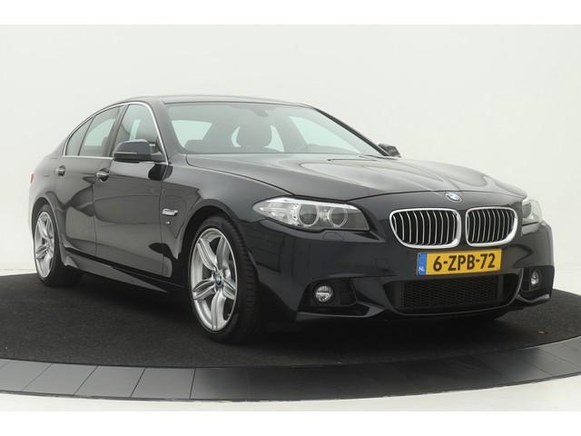 BMW 5 Serie 520i Limousine M-Sport | Leder | Sportstoelen | Xenon | Climate control | Stoelverwarming | Navigatie Professional