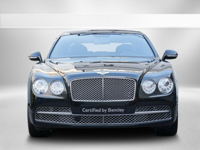 Bentley Flying Spur 6.0 W12 625 PK Midnight Emerald Green met Leder Burnt Oak