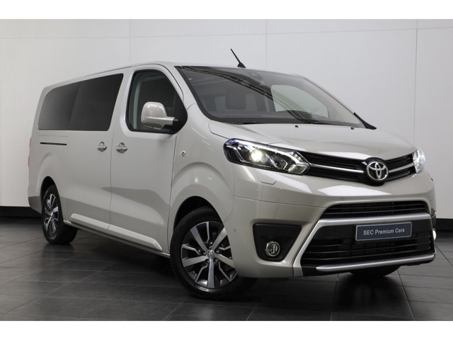 Toyota ProAce Worker 2.0 D-4D Executive DC Long Verso ! Dubbele Cabine, 5-Persoons, Exclusief-pakket, Panorama-dak, Camera, Headup, Adaptive-cruise,