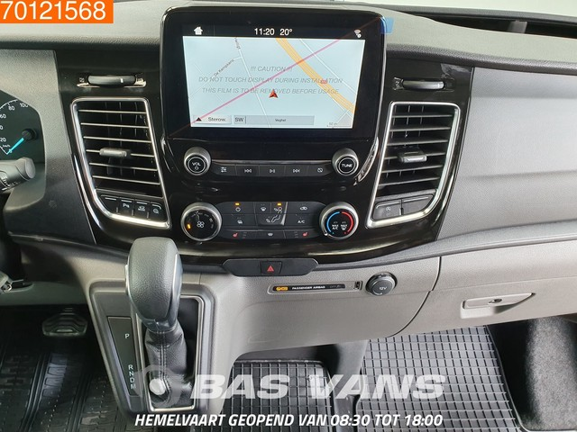Ford Transit Custom 2.0 TDCI 130PK LIMITED Automaat Camera DC Navigatie Trekhaak L1H1 3m3 Airco Dubbel cabine Trekhaak Cruise control