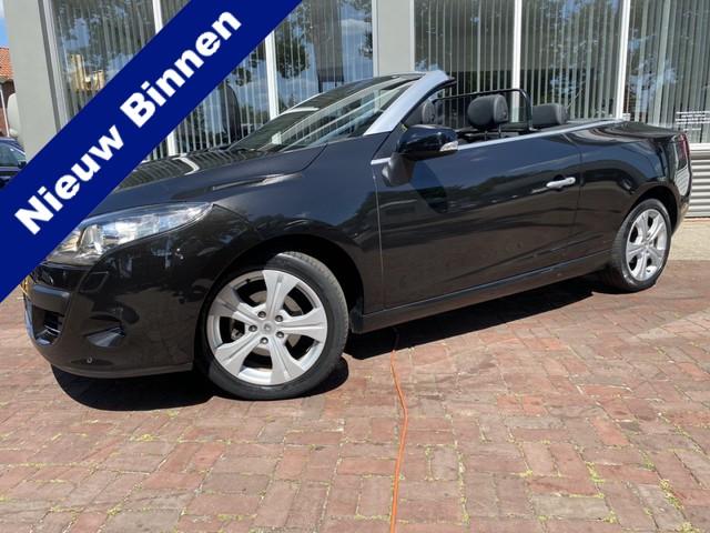 Renault Megane Coupe cabriolet 2.0 Dynamique Leer,Automaat,Clima,Navi (2010) km 107.000 Dealer onderhouden 2e eigen