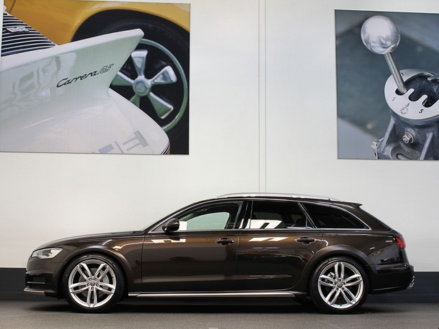 Audi A6 Allroad 3.0 V6 333pk ALLROAD LEDER E-HAAK CAMERA E-KLEP SPORTSTOELEN DRAADL. LADEN MY 2016