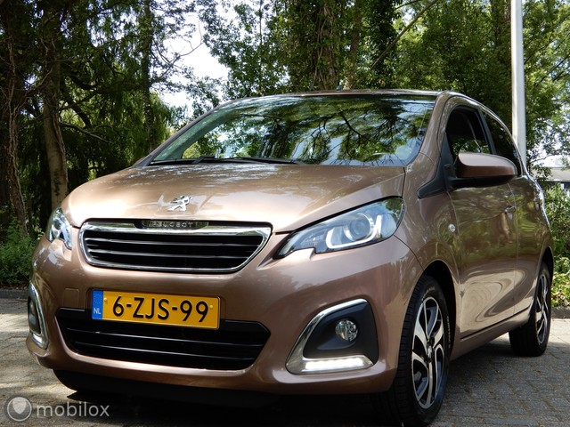 Peugeot 108 1.2 VTi Allure APP-CONNECT CRUISE CONTROL MULTUFUNC.STUUR ETC.!