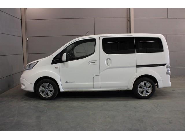 Nissan e-NV200 Evalia Connect Edition (€ 14.815,- Incl. BTW) Quickcharge Camera Airco Navi Isofix Cruise ENV200