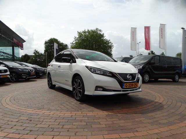 Nissan Leaf e+ Tekna 62 kWh  STYLE PACK   4% bijtelling 2019   18'' velgen   Demo