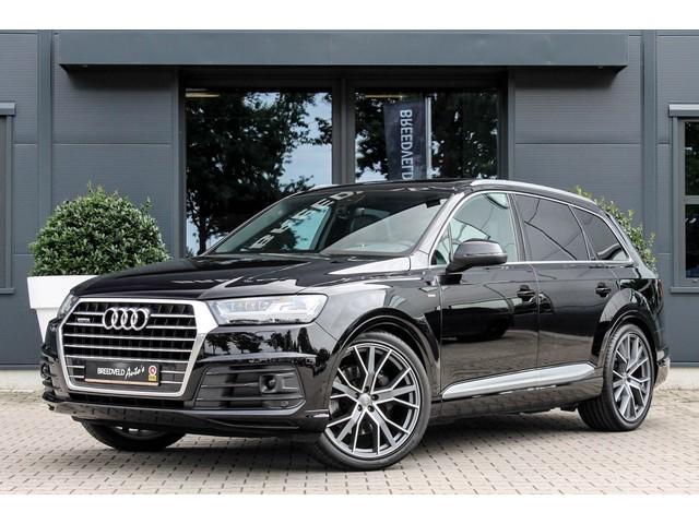 Audi Q7 3.0 TDI quattro S-Line 7p, Pano dak, Trekhaak, 2018