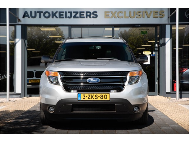 Ford Explorer 7p Panoramadak 7 Persoons Camera Leer Clima Airco Stoelverw Zondag a.s. open!