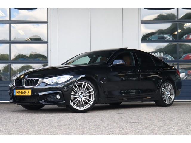 BMW 4 Serie Gran Coupe 440i High Executive   M-sport   Schuif-  kanteldak   Bi-xenon   Wegklapbare trekhaak