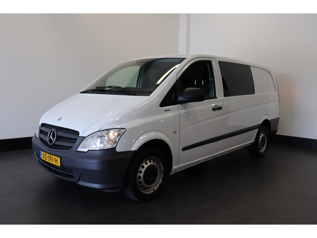 Mercedes-Benz Vito 113 CDI Lang Dubbele Cabine Automaat - Airco - Navi - € 11.900,- Ex.