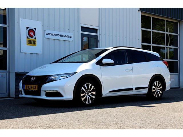 Honda Civic Tourer 1.6D Comfort*NL-Auto*Perfect Honda Dealer onderh. 1ste Eigenaar*Achteruitrijcamera LED 16inch LM Wielen Climate Control C