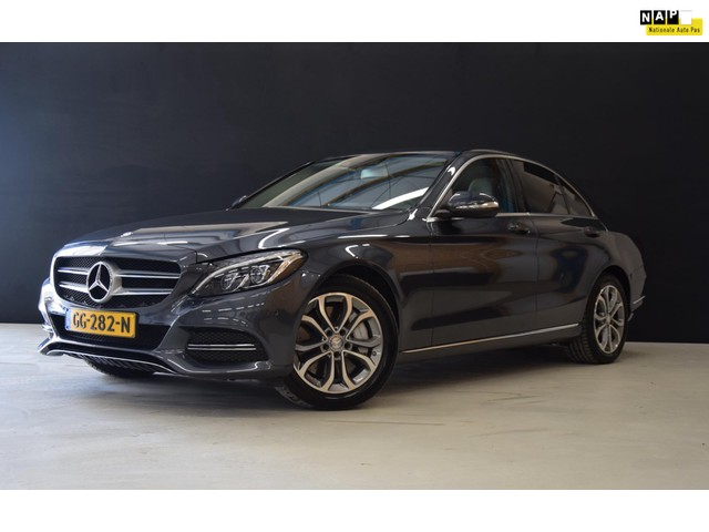 Mercedes-Benz C-Klasse 350 e Lease Edition Sport EX BTW![BURMESTER SOUND, SPORTSTOELEN, VOL LEDER, CAMERA, HEAD-UP, 1E EIG., NIEUWSTAAT]