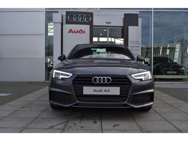 Audi A4 2.0TFSI 190pk S-tronic automaat S line black edition · Connected services · LED Koplampen · 18