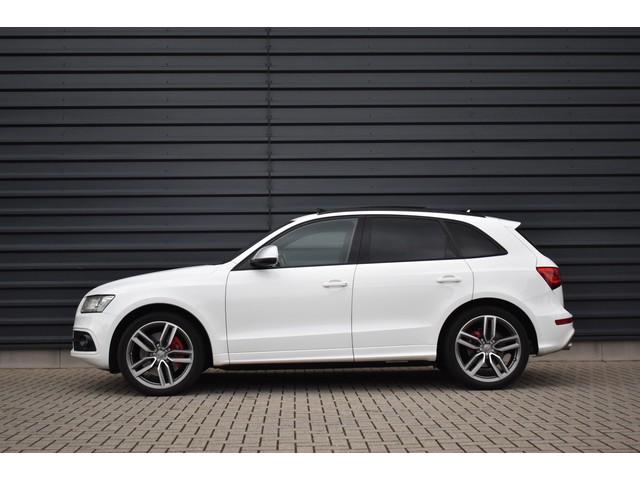Audi Q5 3.0 TDI SQ5 quattro Pro Line S | Panoramadak | B&O | Adaptieve-Cruise | Trekhaak | Black-Line