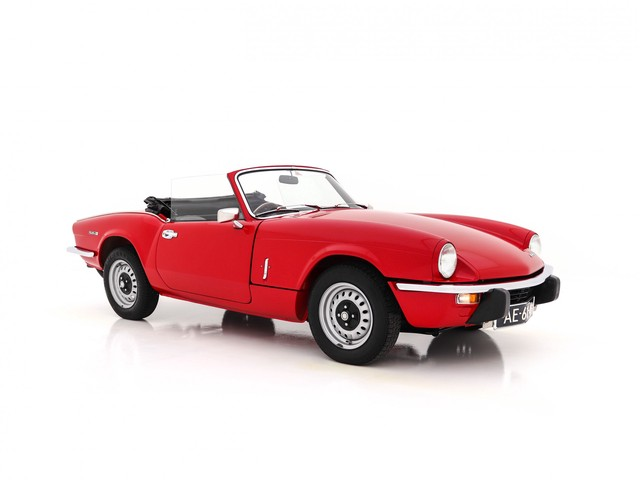 Triumph Spitfire 1300 MK IV Soft Top RHD (CONCOURS-STAAT)