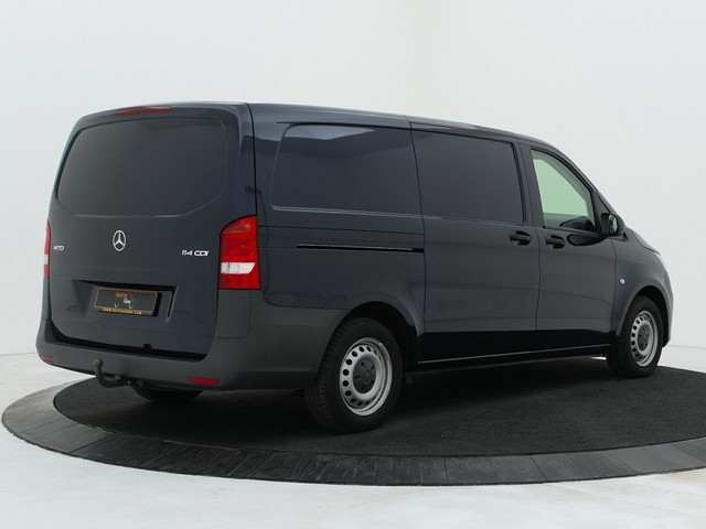 Mercedes-Benz Vito 114CDI 7-Gtronic Automaat Lang | Inrichting | Airco | Cruise | 3-persoons | Trekhaak