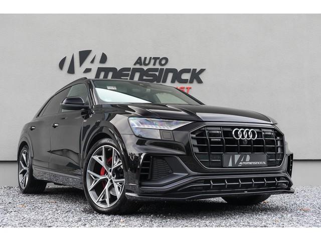 Audi Q8 50 TDI Quattro   ABT Aero Pakket  3x S-line  Luchtvering  Standkachel  Leder  MMI Touch Navigatie  Panoramadak  210kW (286PK)