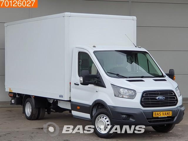 Ford Transit 2.0 TDCI 130PK Bakwagen Dubbellucht Laadklep Airco Meubelbak 19m3 Airco