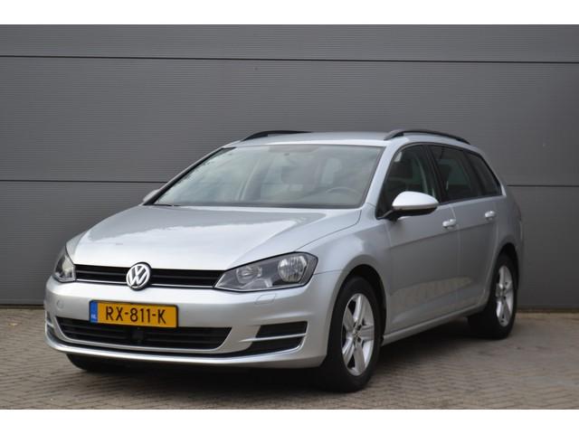 Volkswagen Golf Variant 1.6 TDI Autm. COMFORTLINE, Clima, Cruise, Half leder, Navi, Adaptive.